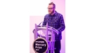 The announcement host - Huw Stephens