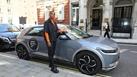 Arlo Parks arrives at the 2021 Hyundai Mercury Prize Shortlist announcement