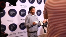 Berwyn being interviewed at the 2021 Hyundai Mercury Prize Shortlist announcement!